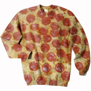 Pizza-sweatshirt